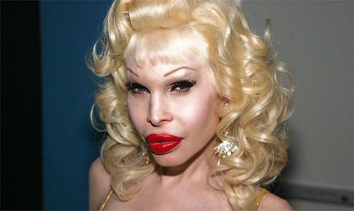 to compare, the real amanda lapore